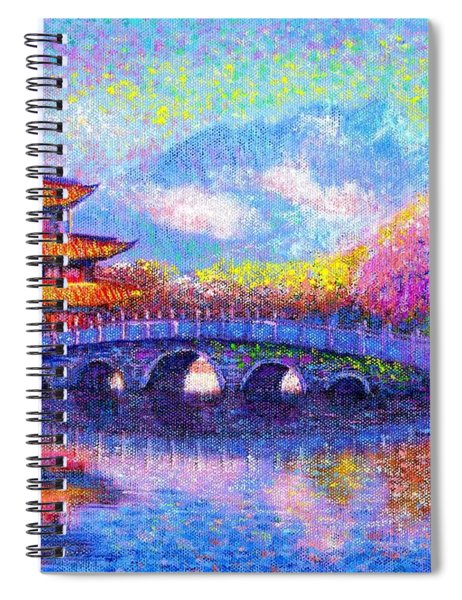 Bridge Of Dreams Spiral Notebook