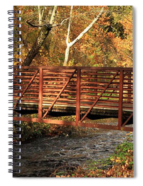 Bridge On Big Chico Creek Spiral Notebook