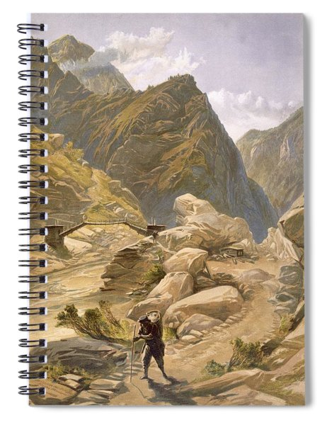 Bridge Over The Sutlej At Wangtoo Spiral Notebook