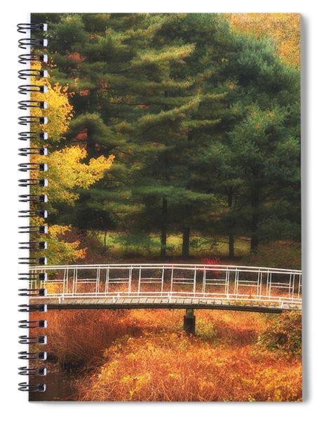 Bridge To Autumn Spiral Notebook