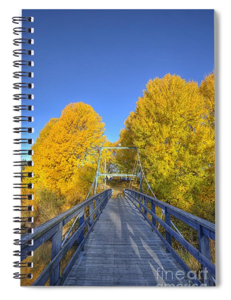 Bridge To Autumn Spiral Notebook