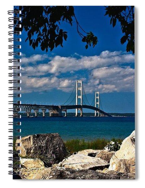 Bridge To The U.p. Spiral Notebook