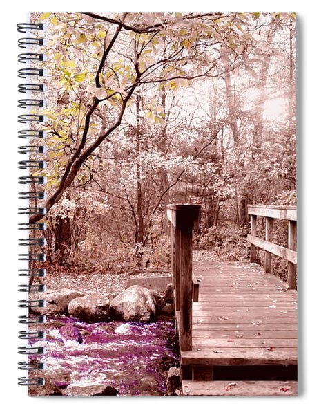 Bridge To Utopia  Spiral Notebook