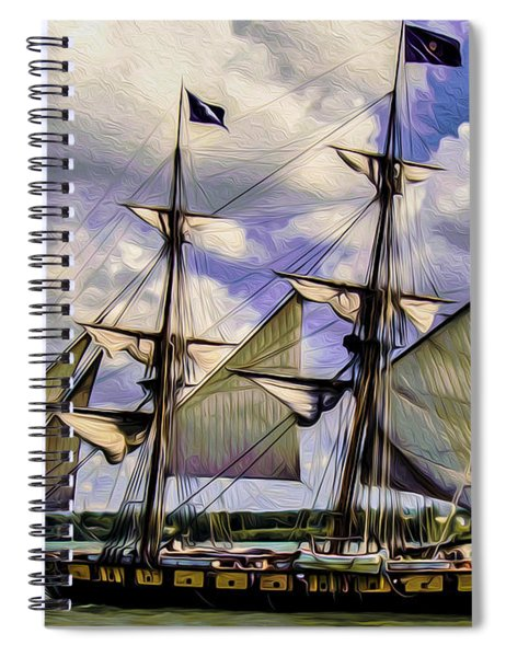 Brig Niagara IIi Spiral Notebook