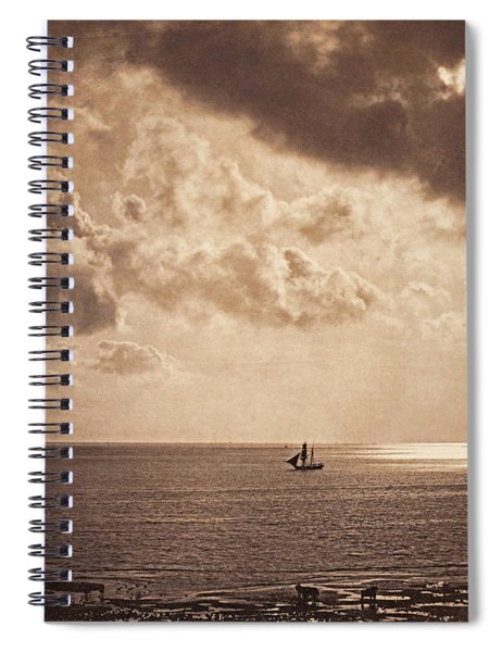 Brig Upon The Water Spiral Notebook