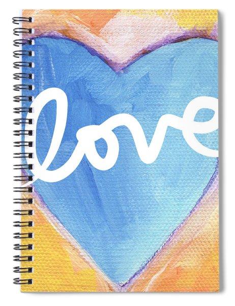 Bright Love Spiral Notebook