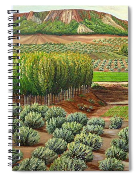 Bright Morning In Alcudia Spiral Notebook