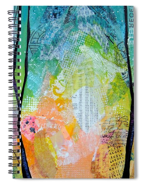Bright Skies For Dark Days I Spiral Notebook