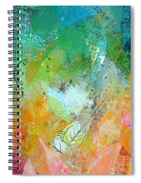 Bright Skies For Dark Days II Spiral Notebook