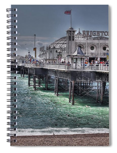 Brighton Pier Spiral Notebook