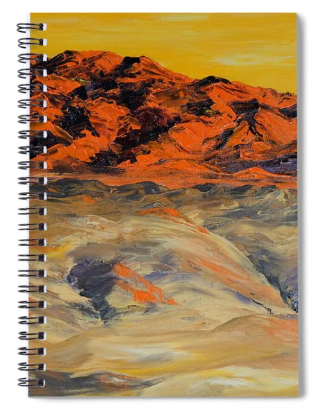 Brilliant Montana Mountains And Foothills Spiral Notebook