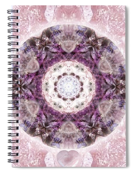 Bringing Light Spiral Notebook