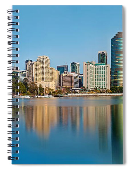 Brisbane City Reflections Spiral Notebook