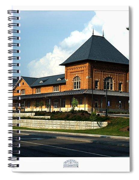 Bristol Train Station Bristol Virginia Spiral Notebook