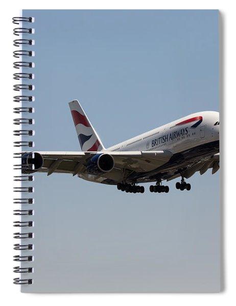 British Airways A380 Spiral Notebook
