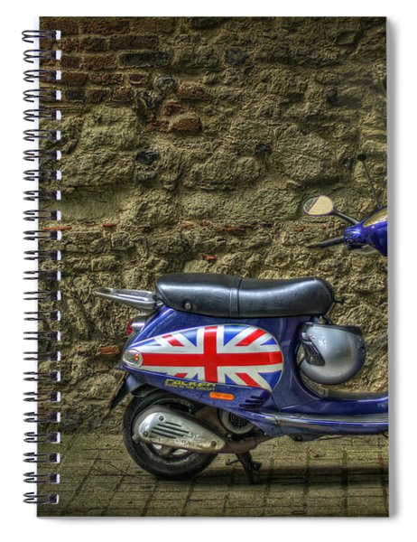 British At Heart Spiral Notebook by Evelina Kremsdorf