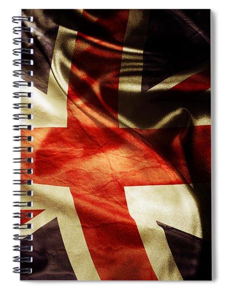 British Flag 1 Spiral Notebook