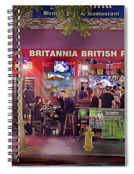 British Pub Spiral Notebook