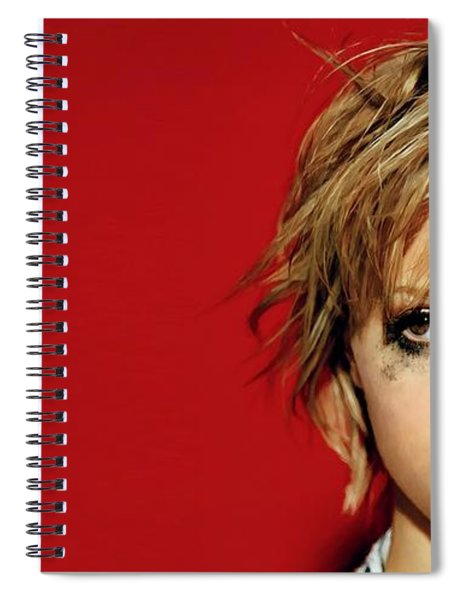 Brittany Murphy Tribute Spiral Notebook