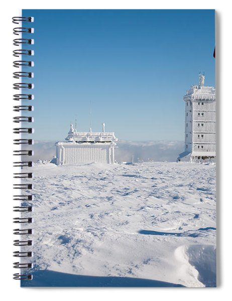Brocken In Winter, Harz Spiral Notebook