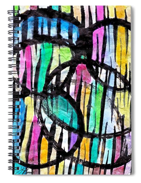 Broken Fences Spiral Notebook
