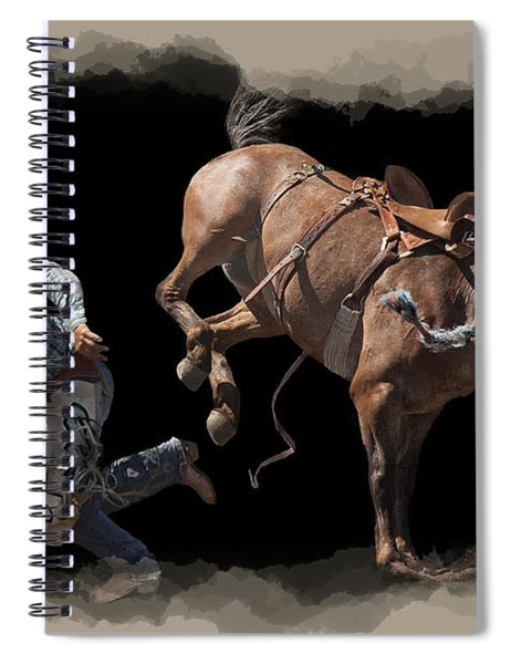 Bronco Busted Spiral Notebook