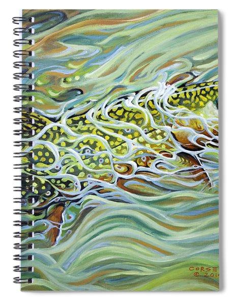 Brookie Flash Spiral Notebook
