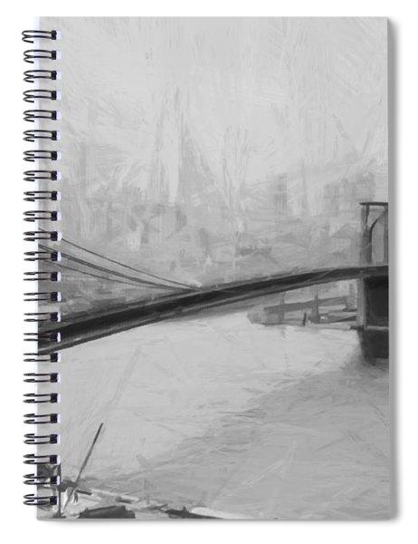 Brooklyn Bridge 2 Spiral Notebook
