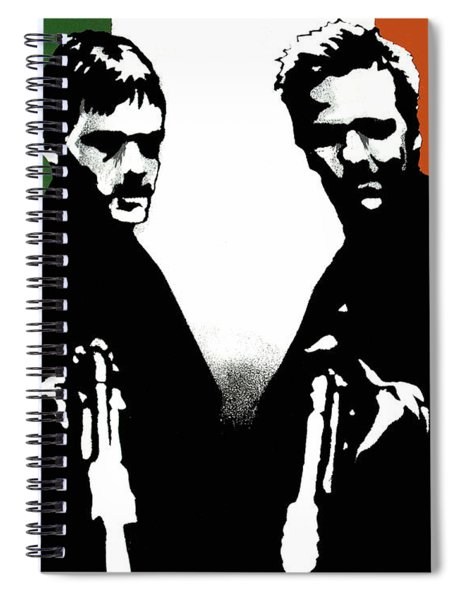 Brothers Killers And Saints Spiral Notebook