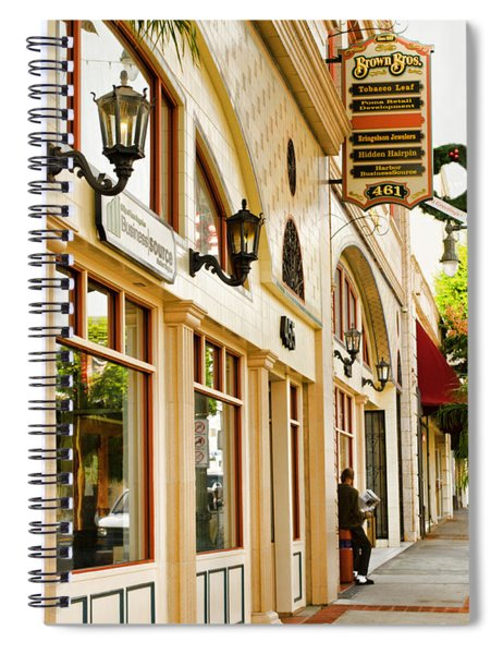 Brown Bros Building Spiral Notebook