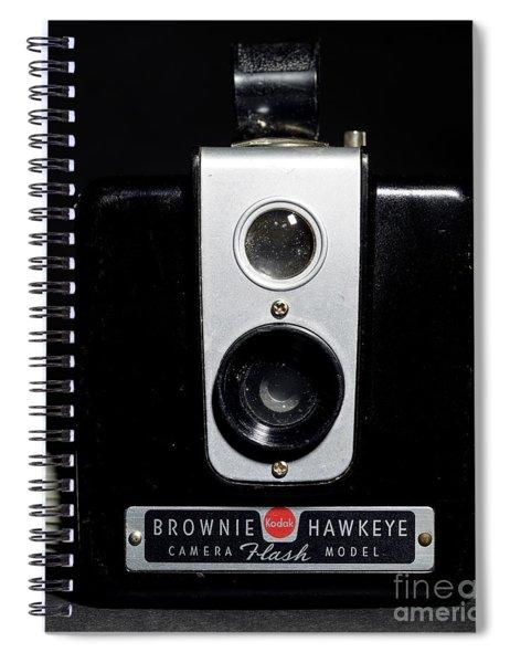 Brownie Hawkeye Flash Camera Spiral Notebook