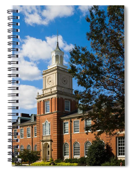 Spiral Notebook featuring the photograph Browning Building At  A P S U by Ed Gleichman