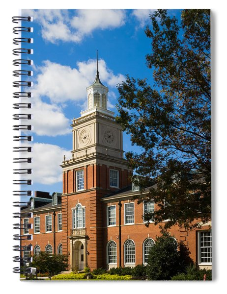 Browning Building At  A P S U Spiral Notebook