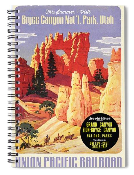 Bryce Canyon Spiral Notebook
