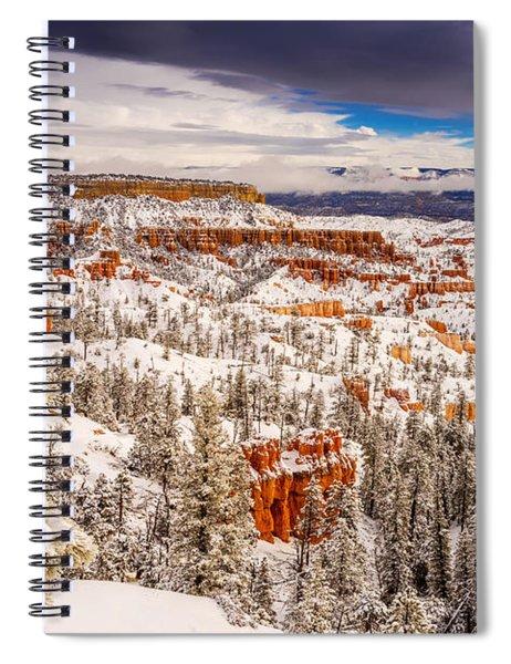 Bryce Canyon Winter Spiral Notebook