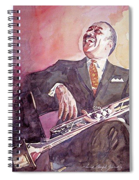 Buck Clayton Jazz Horn Spiral Notebook