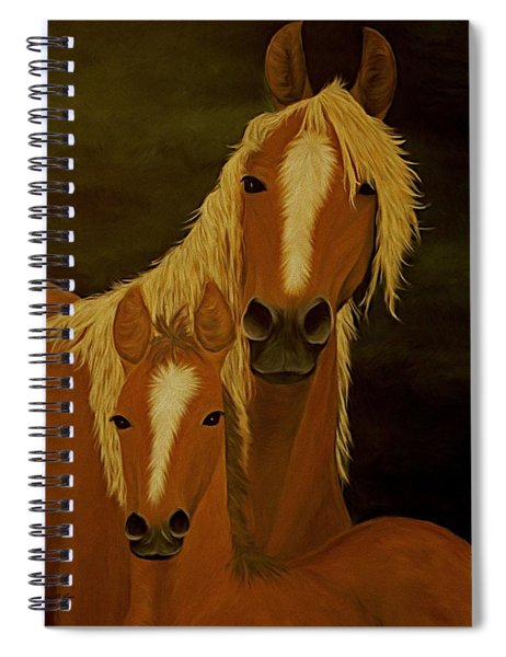 Buckskins Spiral Notebook