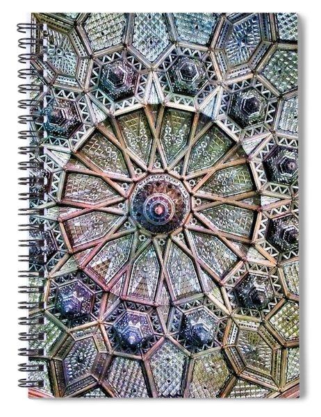 Budapest - Hungary - Paris Court Glass Ceiling Spiral Notebook