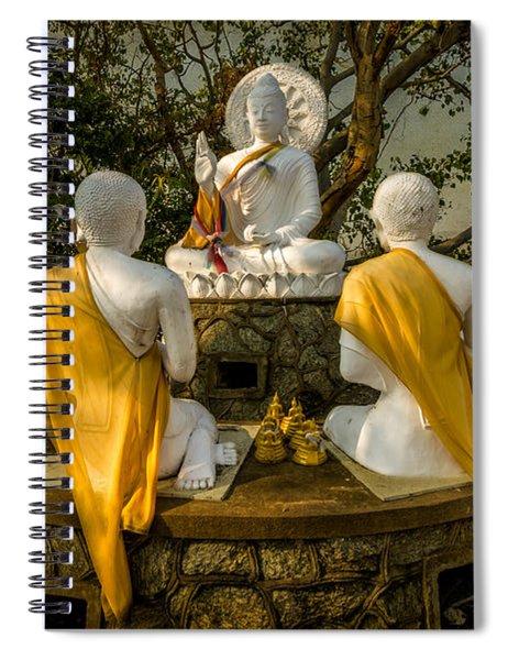 Buddha Lessons Spiral Notebook