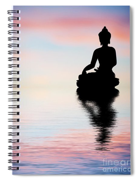 Buddha Reflection Spiral Notebook