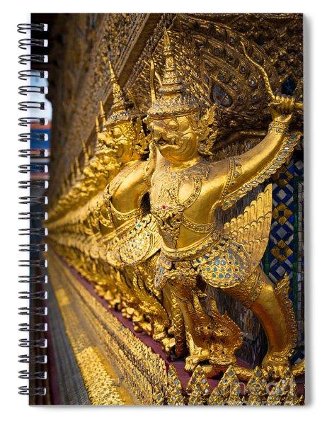 Buddhist Figurines Spiral Notebook