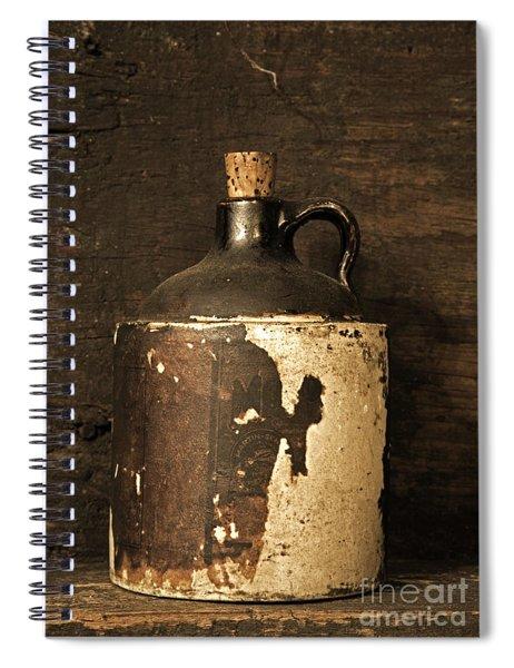 Buddy Bear Moonshine Jug Spiral Notebook