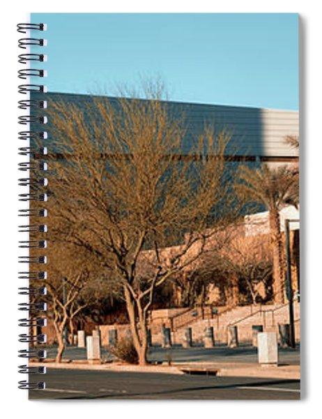 Building Along A Street, Phoenix Spiral Notebook