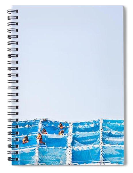 Building Work Spiral Notebook