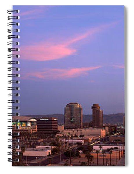Buildings In A City, Phoenix, Maricopa Spiral Notebook