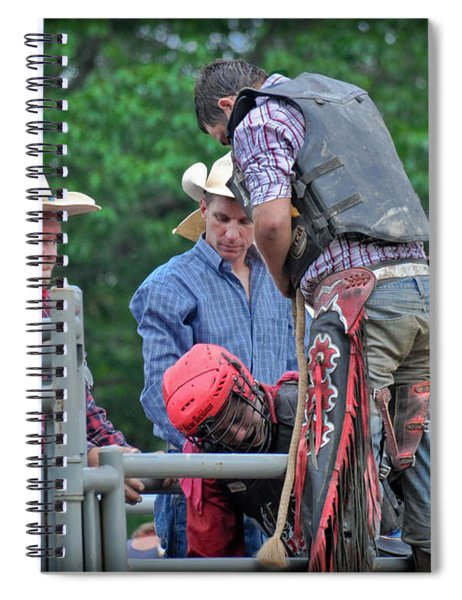 Bull Ride Ready Spiral Notebook