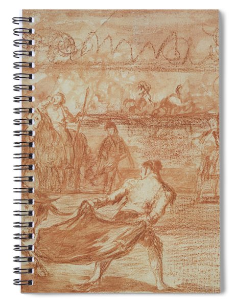 Bullfighting Spiral Notebook