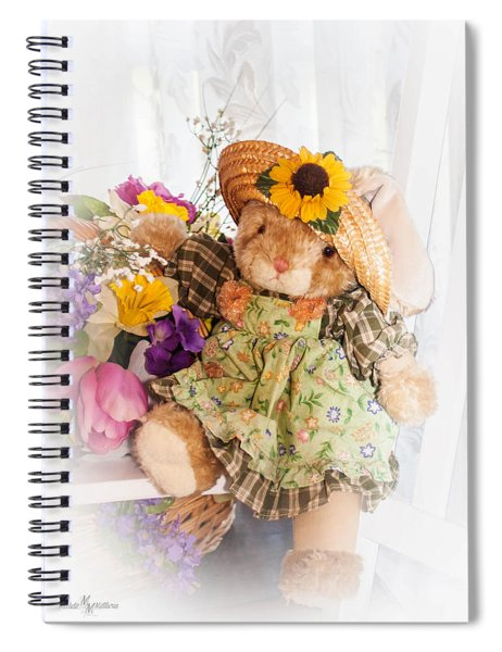 Bunny Expressions Spiral Notebook