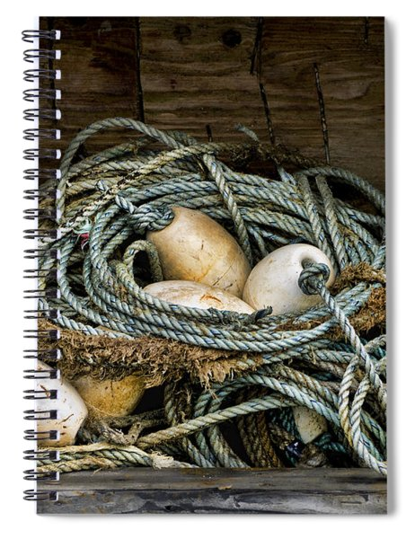 Buoys In A Box Spiral Notebook