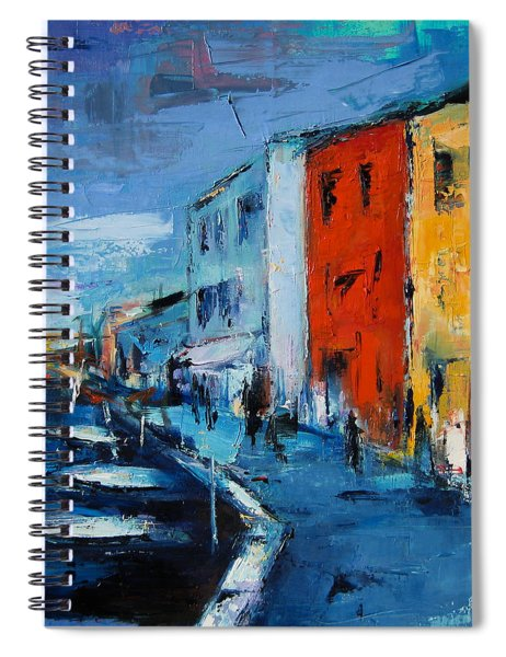 Burano Canal - Venice Spiral Notebook